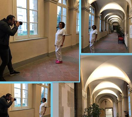 Scéance photo IntérimR Santé